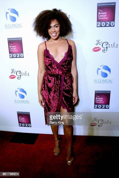 Actress Stephanie Ballena attends the 17th Annual 'Les Girls' at Avalon on October 15 2017 in Hollywood California