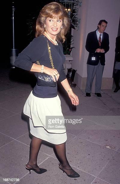 Actress Stephanie Beacham attends the NBC Winter TCA Press Tour on January 8 1994 at the RitzCarlton Huntington Hotel in Pasadena California