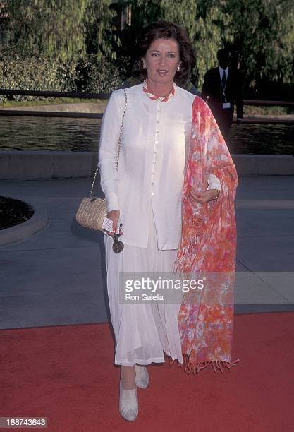 Actress Stephanie Beacham attends 'The Nutty Professor' Universal City Premiere on June 27 1996 at the Universal Amphitheatre in Universal City...