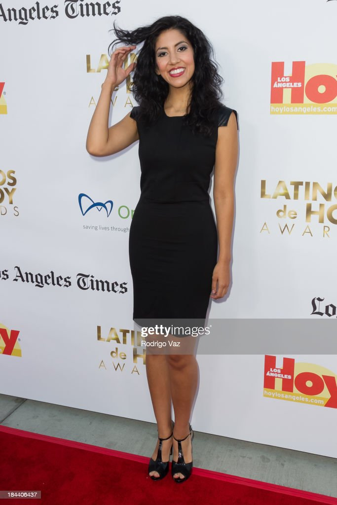 Actress Stephanie Beatriz arrives at the 2013 Latinos De Hoy Awards at Los Angeles Times Chandler Auditorium on October 12, 2013 in Los Angeles, California.