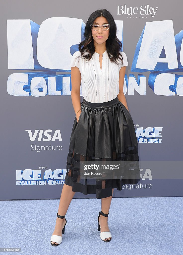 Actress Stephanie Beatriz arrives at the screening Of 'Ice Age Collision Course' at Zanuck Theater at 20th Century Fox Lot on July 16 2016 in Los...