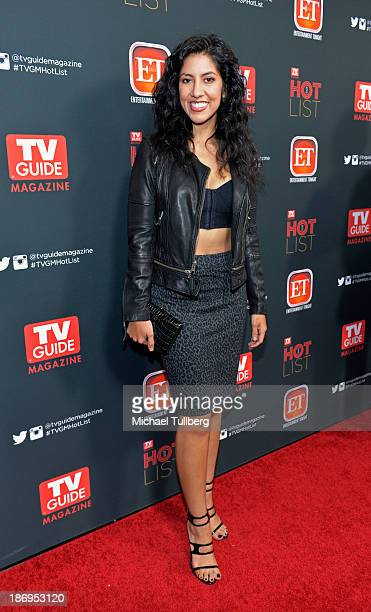 Actress Stephanie Beatriz attends TV Guide Magazine's Annual Hot List Party at The Emerson Theatre on November 4 2013 in Hollywood California