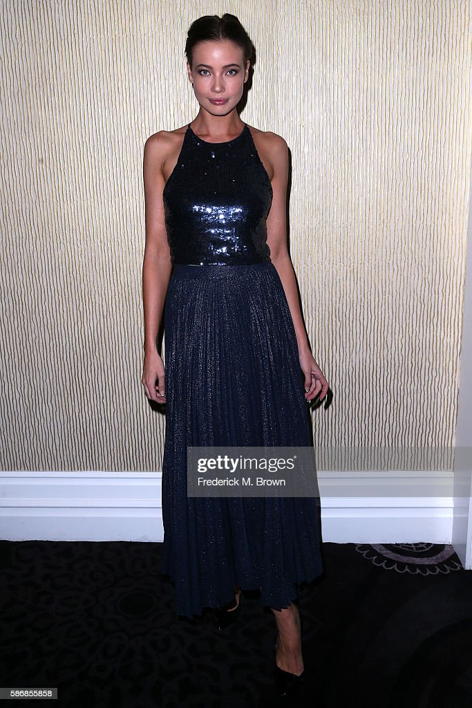 Actress Stephanie Corneliussen attends the 32nd annual Television Critics Association Awards during the 2016 Television Critics Association Summer...