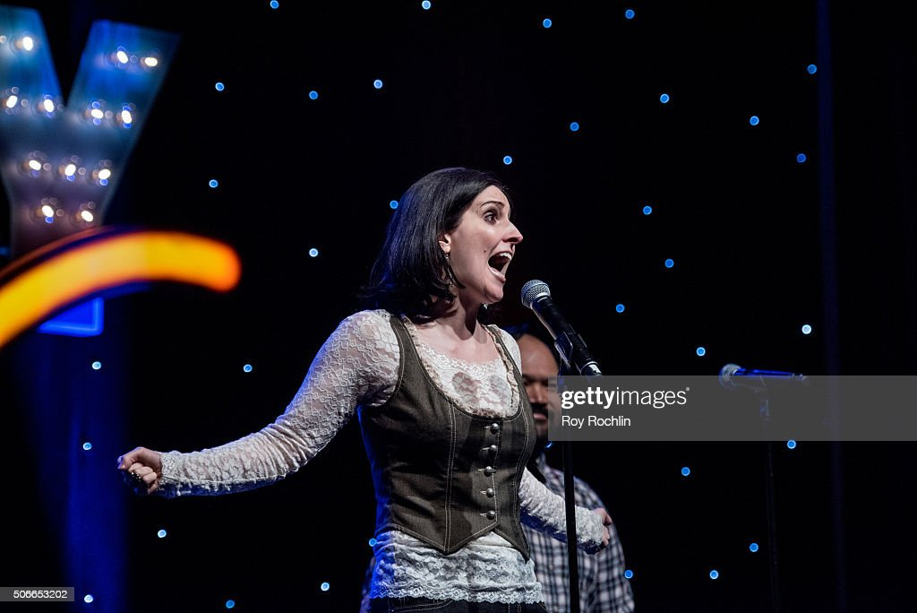 Actress Stephanie D'Abruzzo attends BroadwayCon 2016 at the New York Hilton Midtown on January 24, 2016 in New York City.