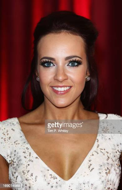 Actress Stephanie Davis attends the British Soap Awards at Media City on May 18 2013 in Manchester England