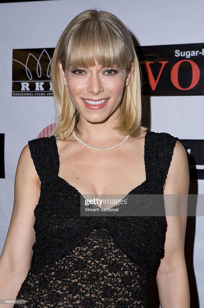 Actress Stephanie Drapeau attends the premiere of 'Vishwaroopam' at Pacific Theaters at the Grove on January 24, 2013 in Los Angeles, California.