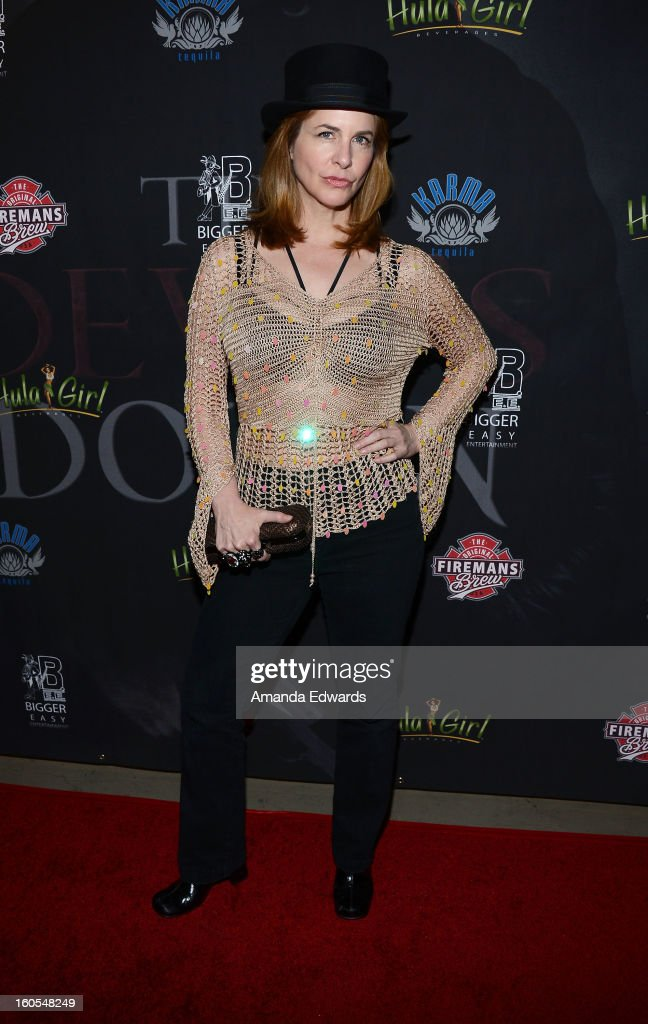 Actress Stephanie Erb arrives at the Los Angeles Premiere of 'The Devil's Dozen' at Mann's Chinese 6 Theatres on February 1, 2013 in Hollywood, California.
