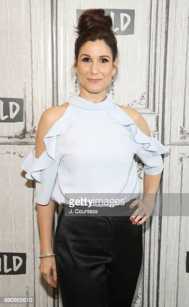 Actress Stephanie J Block attends Build Presents Stephanie J Block Discussing 'Falsettos' at Build Studio on May 31 2017 in New York City
