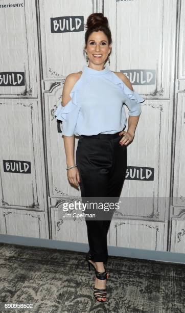 Actress Stephanie J Block attends Build to discuss 'Falsettos' at Build Studio on May 31 2017 in New York City