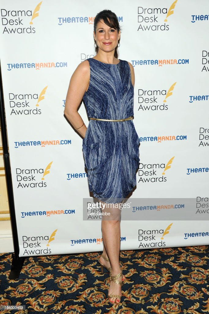 Actress Stephanie J. Block attends The 2013 Drama Desk Nominees Reception at JW Marriott Essex House on May 8, 2013 in New York City.