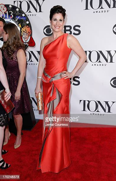 Actress Stephanie J Block attends The 67th Annual Tony Awards at Radio City Music Hall on June 9 2013 in New York City