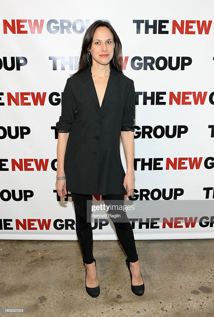 Actress Stephanie Janssen attends The New Group Bright Lights Off-Broadway 2013 Gala at Tribeca Rooftop on March 11, 2013 in New York City.