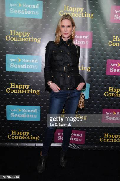 Actress Stephanie March arrives at Sprint Sound Sessions at Webster Hall on April 29 2014 in New York City