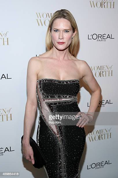 Actress Stephanie March attends L'Oreal Paris' Ninth Annual Women Of Worth Celebration at The Pierre Hotel on December 2 2014 in New York City