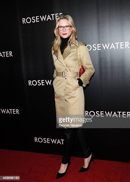 Actress Stephanie March attends 'Rosewater' New York Premiere at AMC Lincoln Square Theater on November 12 2014 in New York City