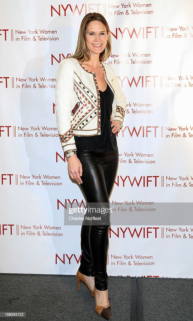 Actress Stephanie March attends the 2012 New York Women In Film And Television Muse Awards at the Hilton New York on December 13, 2012 in New York City.