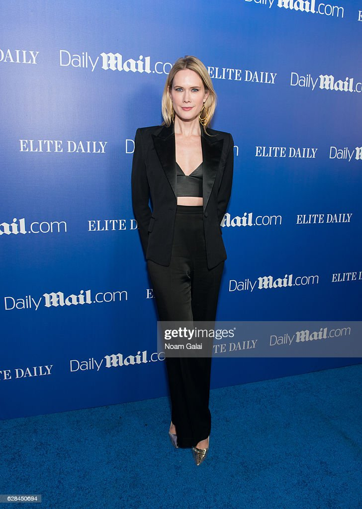 Actress Stephanie March attends the DailyMail.com and Elite Daily holiday party at Vandal on December 7, 2016 in New York City.