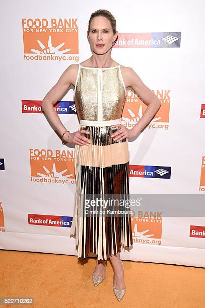 Actress Stephanie March attends the Food Bank Of New York City's Can Do Awards 2016 hosted by Mario Batali at Cipriani Wall Street on April 20 2016...