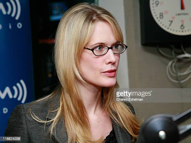 Actress Stephanie March visits the 'Bobby Flay Radio' show at Sirius XM Radio studios on January 29 2009 in New York City