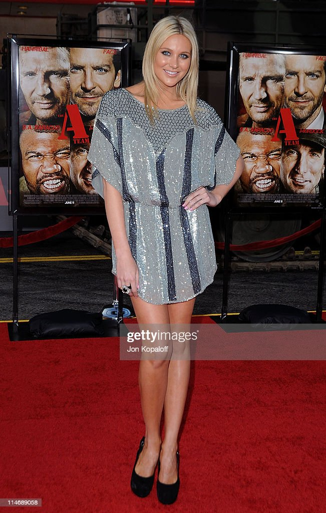 Actress Stephanie Pratt arrives at the Los Angeles Premiere 'The ATeam' at Grauman's Chinese Theatre on June 3 2010 in Hollywood California