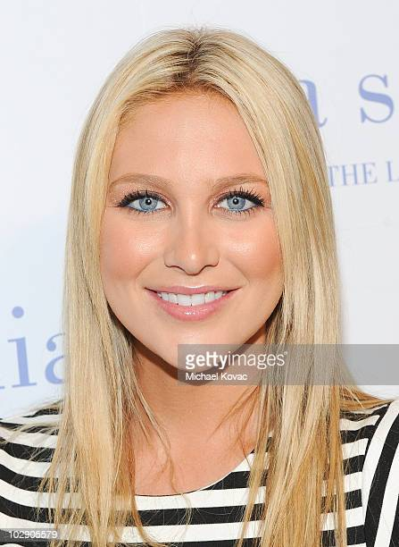 Actress Stephanie Pratt attends Lia Sophia's New 'Lanaya II Collection' Preview Cocktail Party at Sunset Tower on July 14 2010 in West Hollywood...