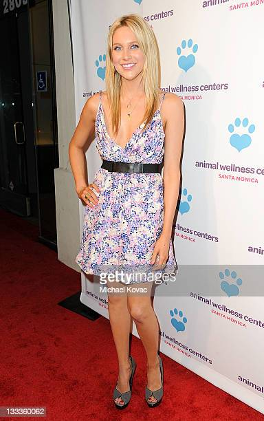 Actress Stephanie Pratt attends the Animal Wellness Center Grand Opening Launch Party at Animal Wellness Center on February 11 2010 in Santa Monica...