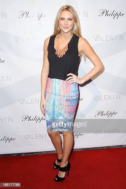 Actress Stephanie Pratt attends Valentin Launch Party at Philippe Chow on October 17 2013 in Los Angeles California
