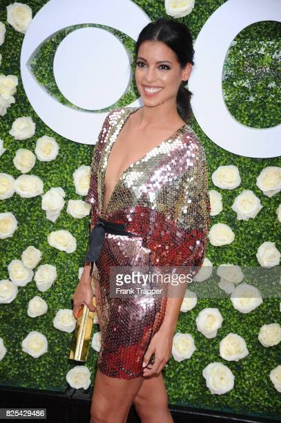 Actress Stephanie Sigman attends the 2017 Summer TCA Tour CBS Television Studios' Summer Soiree at CBS Studios Radford on August 1 2017 in Studio...