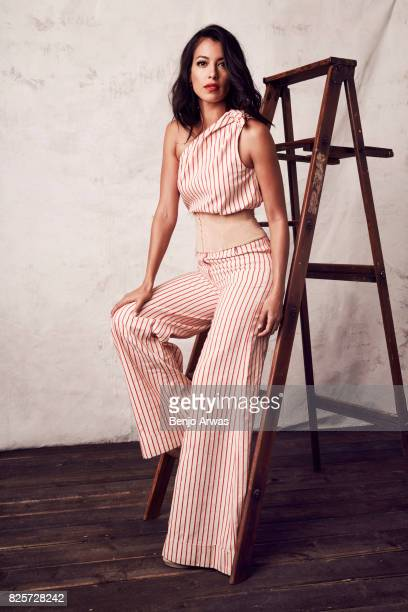 Actress Stephanie Sigman of CBS's 'SWAT' poses for a portrait during the 2017 Summer Television Critics Association Press Tour at The Beverly Hilton...