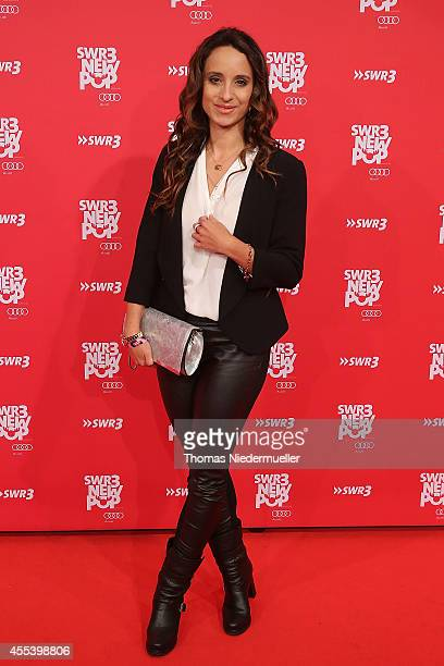 Actress Stephanie Stumph attends the red carpet prior to the SWR3 New Pop Festival 'Das Special' at Festspielhaus on September 13 2014 in BadenBaden...