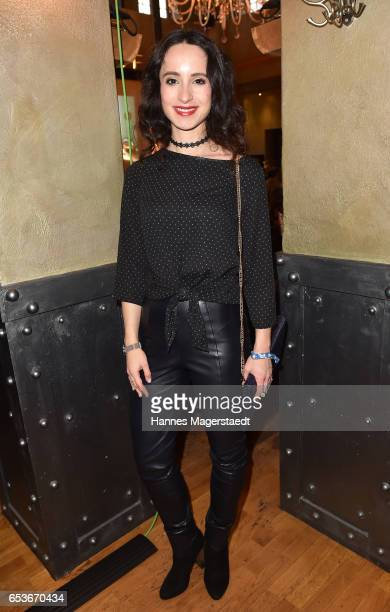 Actress Stephanie Stumph during the NdF after work press cocktail at Parkcafe on March 15 2017 in Munich Germany