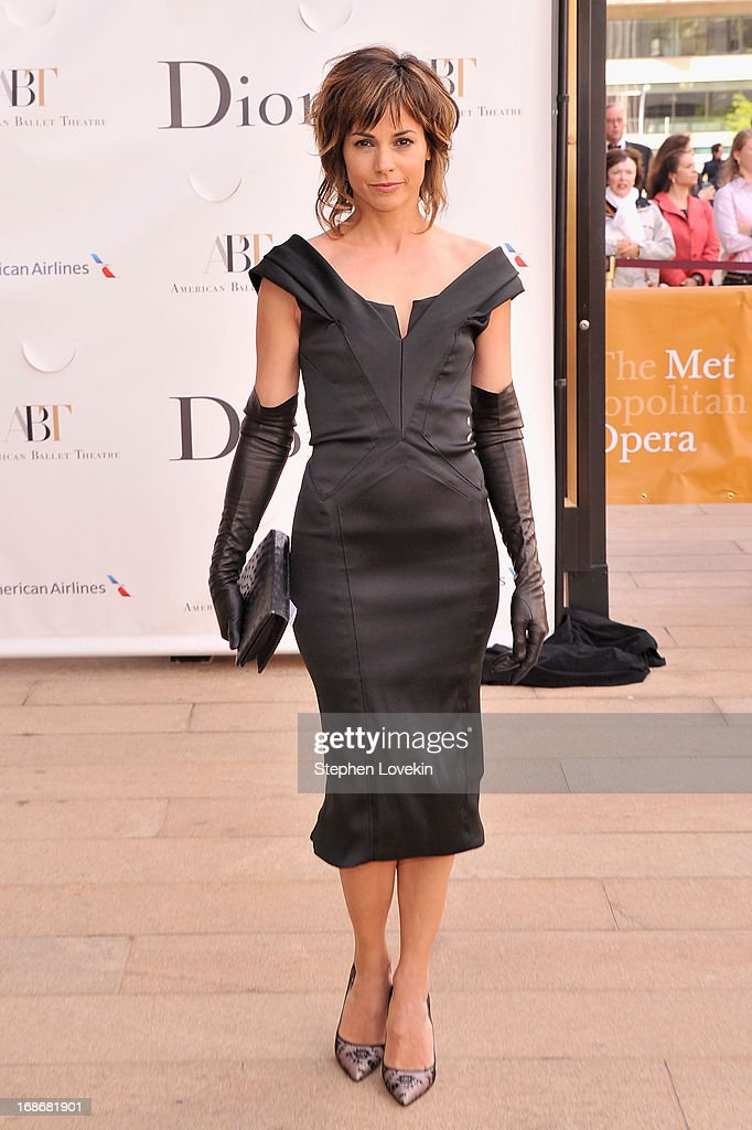 Actress Stephanie Szostak attends the American Ballet Theatre opening night Spring Gala at Lincoln Center on May 13, 2013 in New York City.