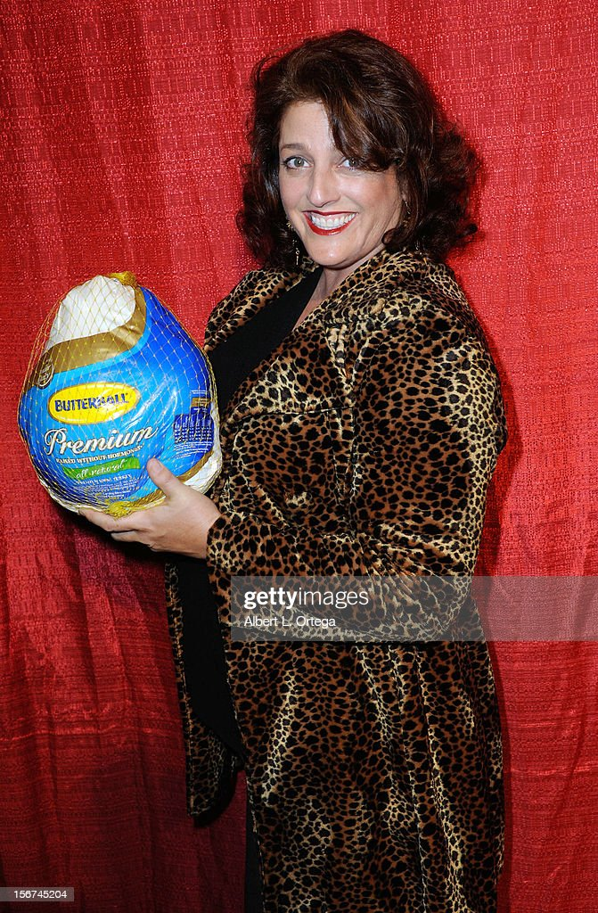 Actress Stephanie T. Keefer arrives for Jackson Limousine Homeless Turkey Drive Red Carpet Gala held at Infusion Lounge on November 19, 2012 in Universal City, California.