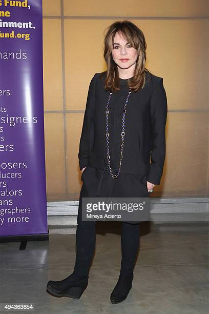 Actress Stockard Channing attends 'Bridging the Gap and Other Short Plays by Wesley Taylor' benefit reading at New World Stages on October 26 2015 in...