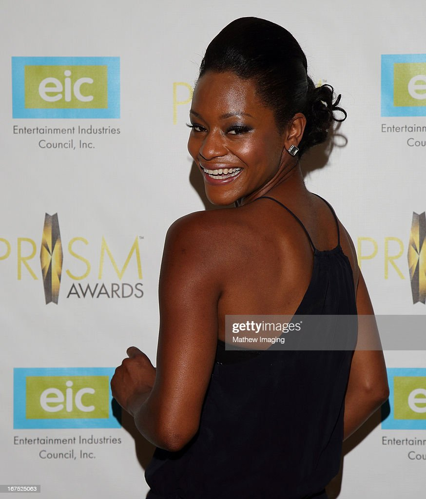 Actress Sufe Bradshaw arrives at the 17th Annual PRISM Awards at the Beverly Hills Hotel on April 25, 2013 in Beverly Hills, California.