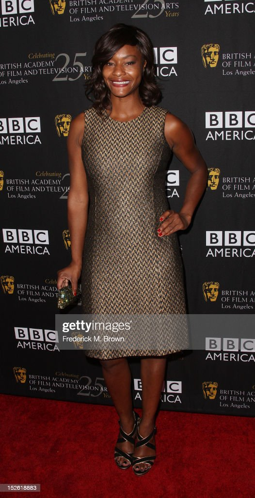 Actress Sufe Bradshaw attends BAFTA LA TV Tea 2012 Presented By BBC America at The London Hotel Hollywood on September 22, 2012 in West Hollywood, California.