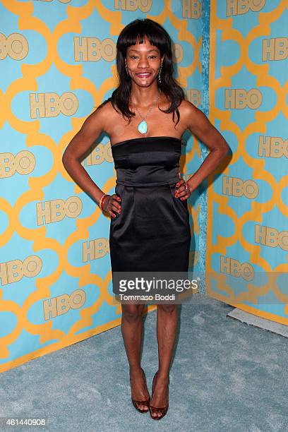 Actress Sufe Bradshaw attends the HBO'S Post Golden Globe Party held at The Beverly Hilton Hotel on January 11 2015 in Beverly Hills California
