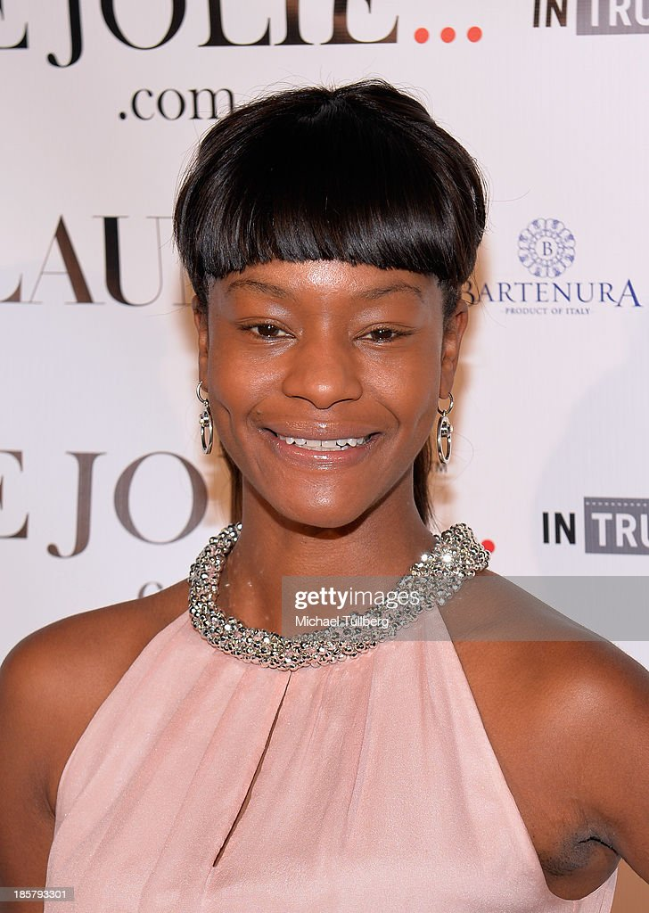 Actress <a gi-track='captionPersonalityLinkClicked' href=/galleries/search?phrase=Sufe+Bradshaw&family=editorial&specificpeople=5855646 ng-click='$event.stopPropagation()'>Sufe Bradshaw</a> attends the LeJolie.com launch party at No Vacancy on October 24, 2013 in Los Angeles, California.