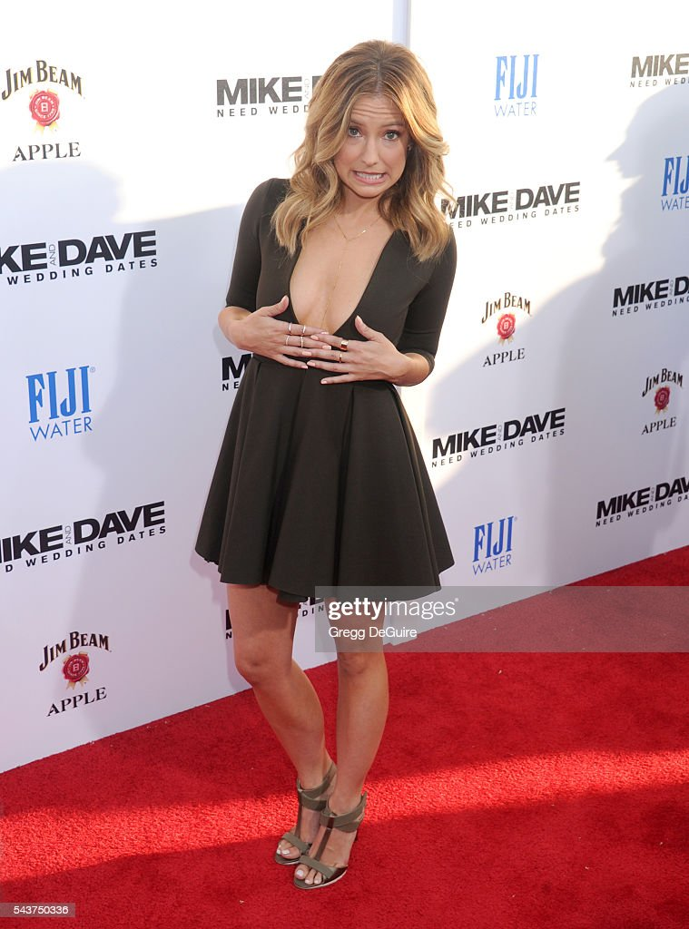 Actress Sugar Lyn Beard arrives at the premiere of 20th Century Fox's 'Mike And Dave Need Wedding Dates' at the Cinerama Dome at ArcLight Hollywood...