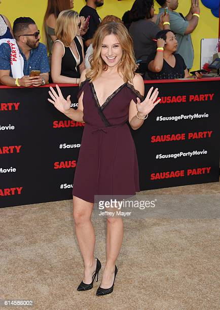 Actress Sugar Lyn Beard arrives at the Premiere Of Sony's 'Sausage Party' at Regency Village Theatre on August 9 2016 in Westwood California