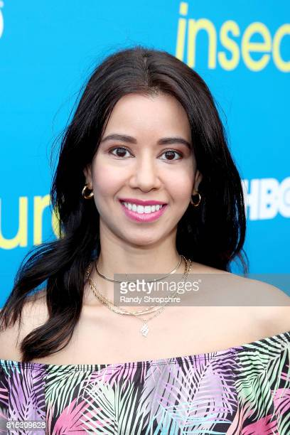 Actress Sujata Day attends a block party celebrating HBO's new season of 'Insecure' on July 15 2017 in Inglewood California