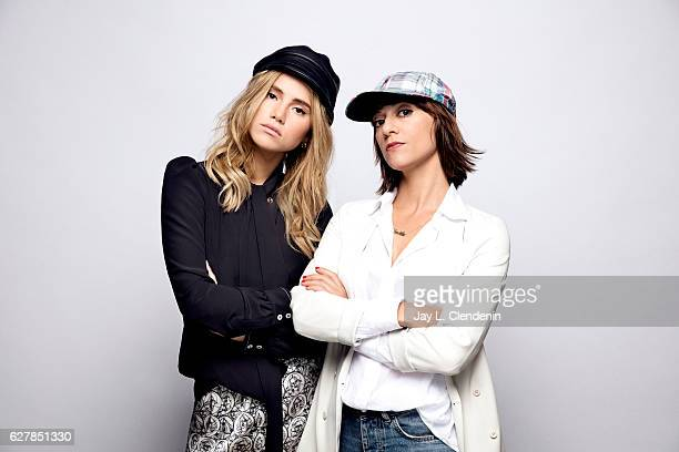 Actress Suki Waterhouse and director Ana Lily Amirpour from the film The Bad Batch pose for a portraits at the Toronto International Film Festival...