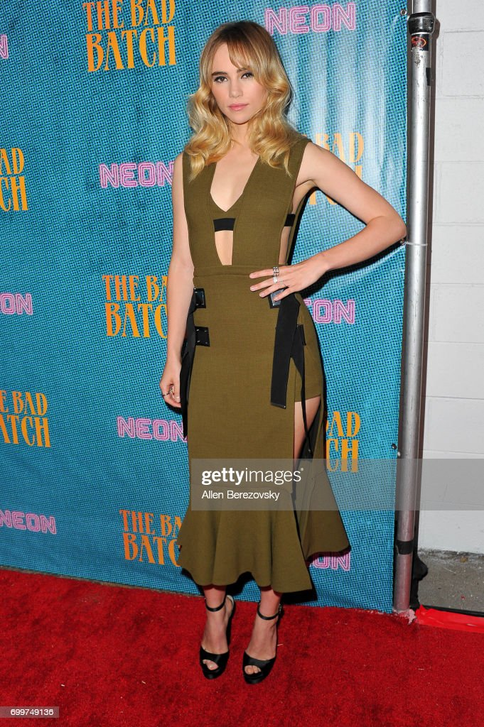 Actress Suki Waterhouse attends Premiere Of Neon's 'The Bad Batch' at Resident on June 19, 2017 in Los Angeles, California.
