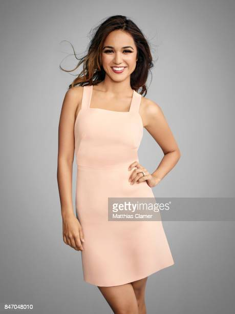 Actress Summer Bishil from 'The Magicians' is photographed for Entertainment Weekly Magazine on July 23 2016 at Comic Con in the Hard Rock Hotel in...