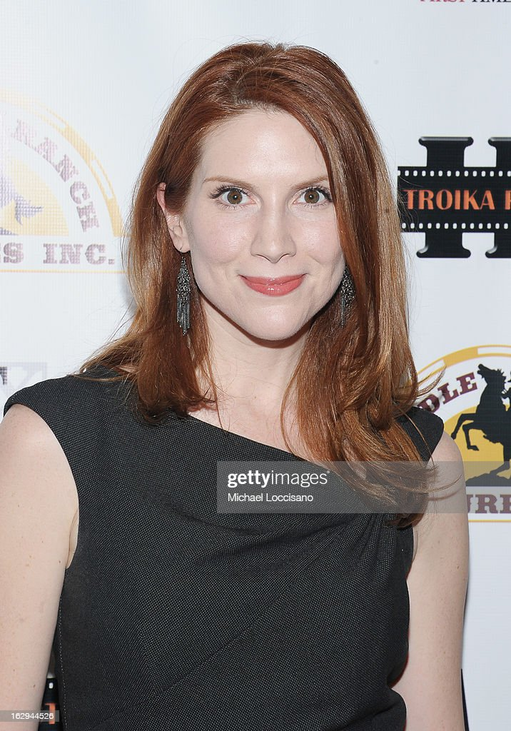 Actress Summer Crockett Moore attends the opening night party for the 2013 First Time Fest at The Players Club on March 1, 2013 in New York City.