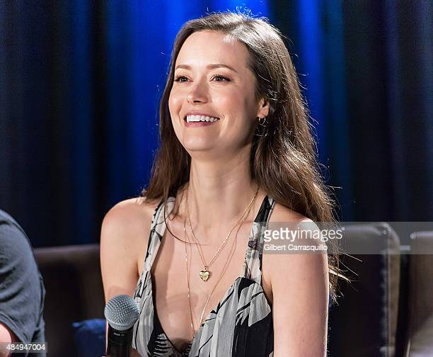 Actress Summer Glau attends Wizard World Comic Con Chicago 2015 Day 3 at Donald E Stephens Convention Center on August 22 2015 in Chicago Illinois