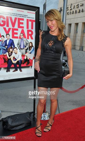 Actress Sun Nea arrives at the Screening of Magnolia Pictures' 'I Give It A Year' at ArcLight Hollywood on August 1 2013 in Hollywood California