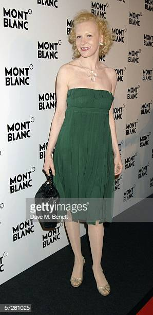Actress Sunnyi Melles attends 100th Anniversary gala celebration in a fantastic recreation on the summit of Mont Blanc with a dazling runway...