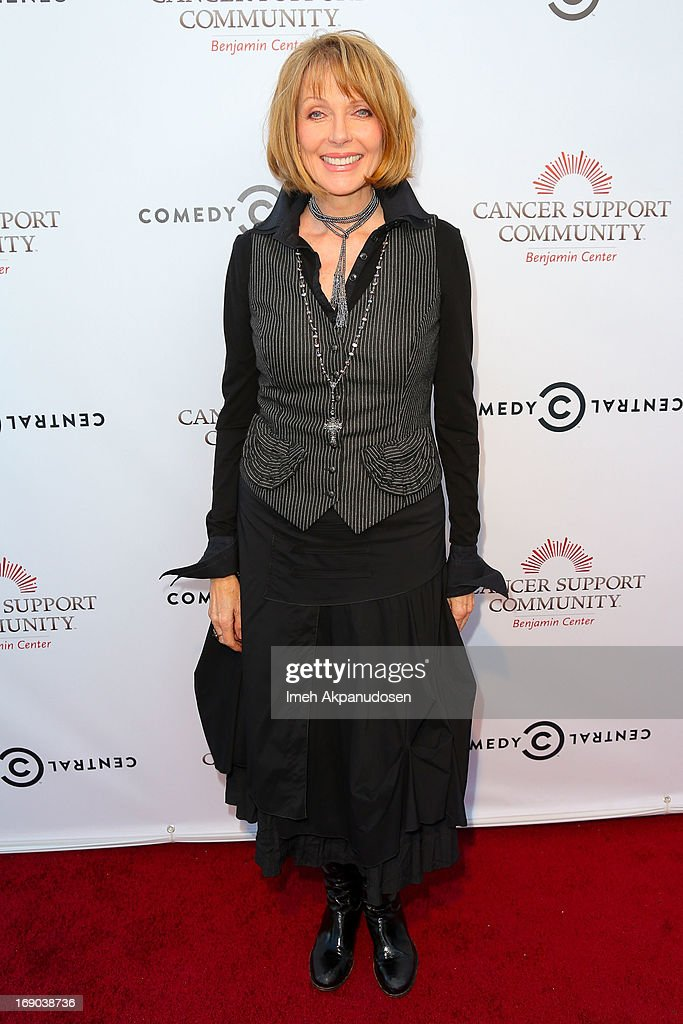 Actress <a gi-track='captionPersonalityLinkClicked' href=/galleries/search?phrase=Susan+Blakely&family=editorial&specificpeople=671913 ng-click='$event.stopPropagation()'>Susan Blakely</a> attends A Night of Fresh Comedy and Art celebrating Gilda Radner's legacy at Museum of Flying on May 18, 2013 in Santa Monica, California.