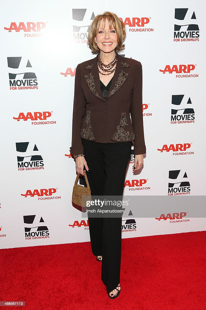 Actress <a gi-track='captionPersonalityLinkClicked' href=/galleries/search?phrase=Susan+Blakely&family=editorial&specificpeople=671913 ng-click='$event.stopPropagation()'>Susan Blakely</a> attends the 13th Annual AARP's Movies For Grownups Awards Gala at Regent Beverly Wilshire Hotel on February 10, 2014 in Beverly Hills, California.